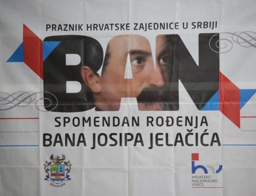 Najava proslave spomendana rođenja bana Jelačića
