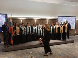 Nastup pjevačkog zbora na proslavi Dana državnosti RH u hotelu Crowne Plaza u Beogradu