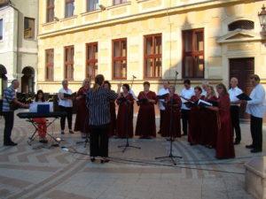 Nastup pjevačkog zbora u Vinkovcima na proslavi Dana grada