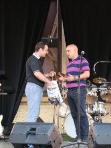 Razmjena darova s gradonačelnikom Vinkovaca